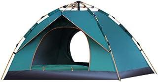 comprar comparacion thematys Tienda de campaña Ligera Pop Up en Verde y Azul con Bolsa de Transporte Acampar, Festivales y Vacaciones