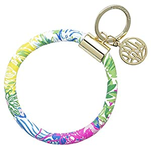 Beauty Shopping Lilly Pulitzer Round Key Ring Chain