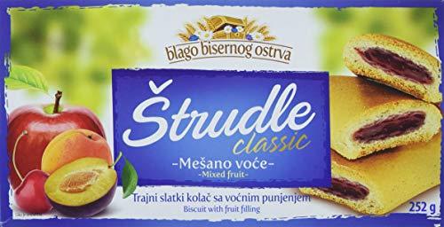Zitoprerada Strudel - Teegebäck mit gemischte Früchten  (252 g)