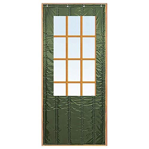 ZXL Deurgordijn voor huisingang, voordeur, Greenhouse, garage, thermische bescherming, warmtewering, aangepast (grootte: 150 x 200 cm)