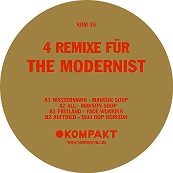 4 Remixe Für The Modernist