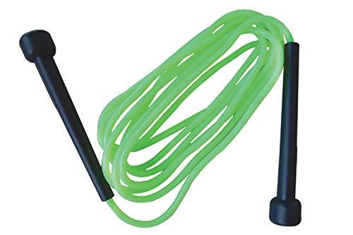 Schildkröt Fitness Springseil Speed Rope, Grün-Schwarz, in 4-Farb Karton, 960025