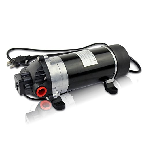 BACOENG 160PSI High Pressure Water Diaphragm Pump , Misting Booster Pump Sprayer for Caravan/RV/Boat/Marine
