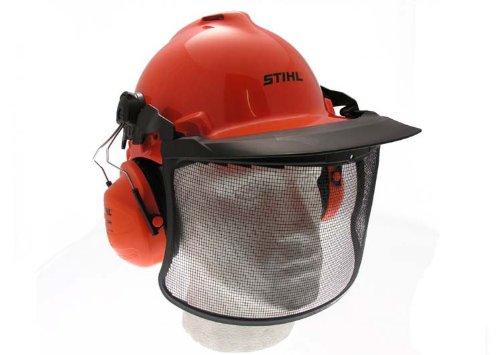 Stihl Birch Helmset mit Gehörschutz und Netzvisier