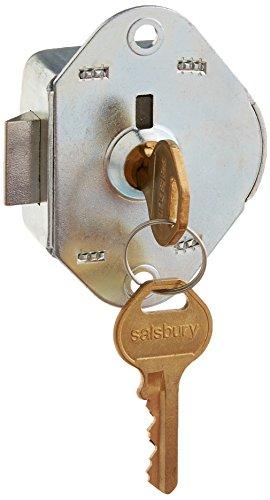 Salsbury Industries 77715 Built in Replacement Lock for Metal Locker Door with 2 Keys