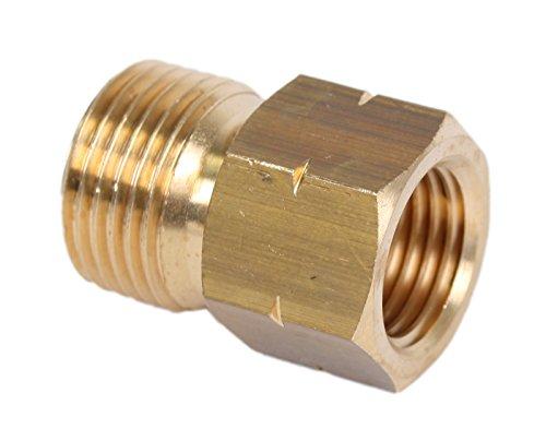 """Preisvergleich Produktbild Reduzierstück lang G 1 / 4"""" LI I x 3 / 8"""" LI A (Gasverbindungsstück Gasadapter)"""