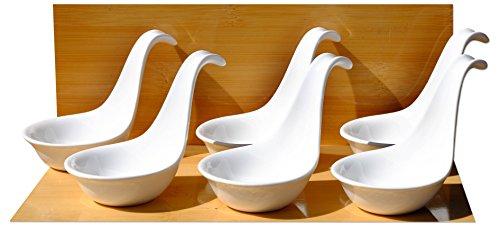 Riffel-Muster je 4 St/ück Gusseisen Schwarz Teetassen mit Untertasse Zen