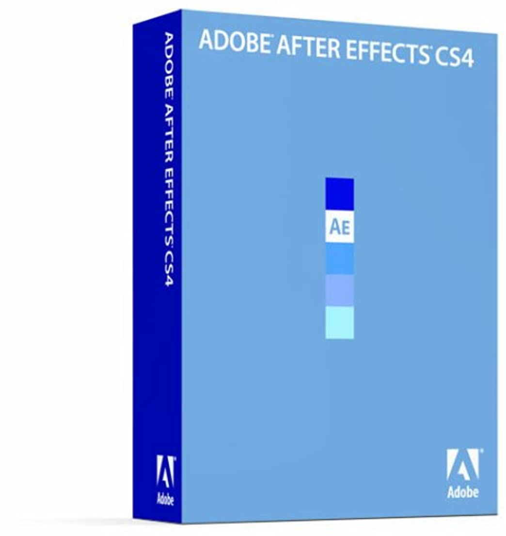 富豪ピアース長々とAdobe After Effects CS4 (V9.0) 日本語版 Macintosh版 (旧製品)