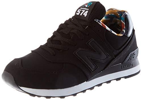 New Balance Herren 574 ML574GYH Medium Sneakers, Black (Black GYH), 46.5 EU