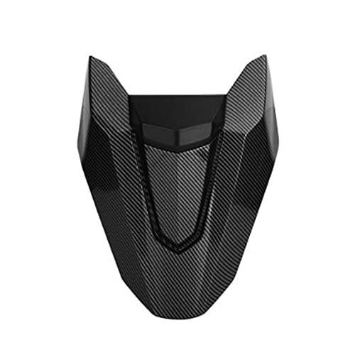 Mrfmh Accesorios de Motocicleta Cubierta del Asiento Trasero Cubierta Trasera Carrete/Ajuste para CB650R CBR650R 2019-2020 CB 650R CB 650R CBR 650R (Color : Carbon Fiber)