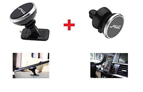 M.I.C. Auto Magnet Lüftung Kfz Halterung Universal für iPhone 7 / 6s / 6 / 5s / 5, Samsung Note 8 / Galaxy S6 und jedes andere Smartphone oder GPS-Gerät