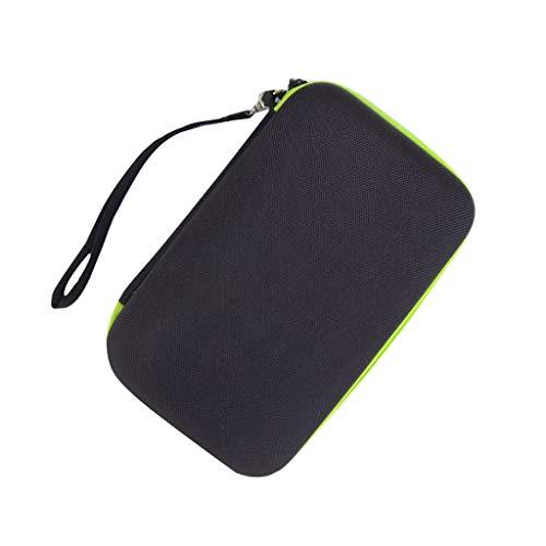 Für Philips OneBlade Rasierer Tasche, Colorful Eva Hart Reisetasche Schutzhülle Case Etui für Philips OneBlade QP2520, QP2530, QP2531 Rasierer & Netzteil