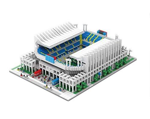 Aida Bz Diamant Mini-Blöcke Fußballfußballvereinfeld-Stadion Modell Baukästen Spanien Kinder Spielzeug Ziegel,Portuguesefootballstadium