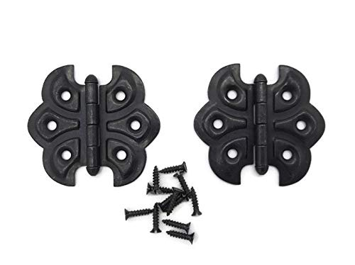 Oil Rubbed Bronze Plated Butterfly Hinge   1 Pair/Pack   Cabinet, Cupboard Door Furniture Hardware   HB-92ORB (1)