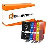 4 Bubprint Druckerpatronen kompatibel für HP 934XL 935XL für OfficeJet Pro 6200 6230 6235 6239 6800 6812 6815 6820 6822 6825 6830 6835 Schwarz Cyan Magenta Gelb Multipack