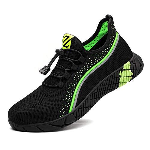Zapatos de Seguridad Hombre Bambas de Seguridad Hombre y Mujer Bambas Punta de Acero Mujer Zapatillas de Trabajo con Punta de Acero Ultraligero