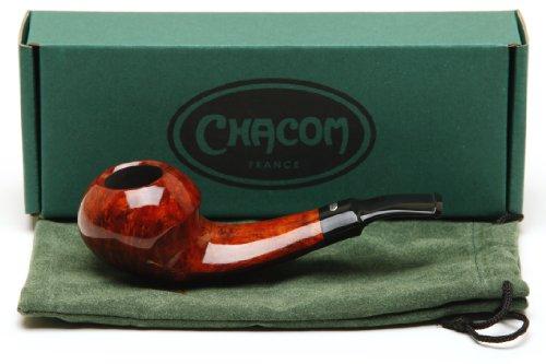 Chacom Eltang Natural Orange Smooth Tobacco Pipe