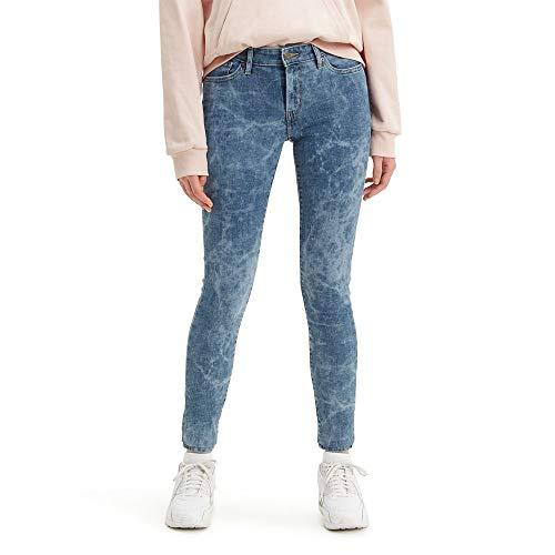 Levi's Women's 711 Skinny Jeans, hawaii Watercolor, 28 (US 6)