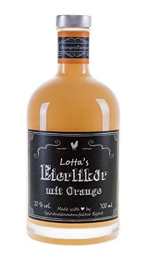 Lotta´s Eierlikör mit Orange 0,70l