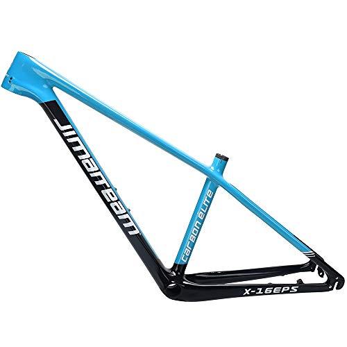 LJHBC Bicycle Frame Cuadro de Bicicleta de montaña de Fibra de Carbono liberación rápida Eje pasante de la versión Freno de Disco Todoterreno 27.5 / 29er Tecnología EPS para Juego competitivo