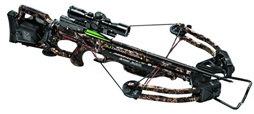 TenPoint Turbo GT Crossbow Package with 3x Pro-View 2 Scope, 3 Pro-Elite Carbon Arrows, 3-Arrow Instant Detach Quiver, and Ambidextrous Side Quiver Mount, With Acudraw