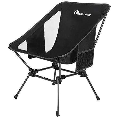 powerful MOON LENCE Backpack Chair Outdoor Camping Chair Compact Portable Folding Chair with Side…