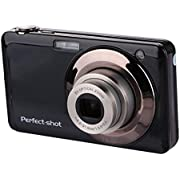 Appareil photo numérique Stoga V600 G052 2,7 pouces TFT 5 X Zoom optique 15MP 1280 X 720 HD anti-shake Smile Capture caméra vidéo numérique - Noir