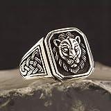 Silver Lion Head Silver Ring-Twelfth_Turkey