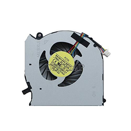 DBTLAP Ordenador portátil CPU enfriamiento Ventilador Compatible para HP Envy dv7-7300 dv7-7310dx dv7-7323cl dv7-7333cl dv7-7358ca dv7-7373ca dv7-7398ca dv7t-7300 dv7t-7300