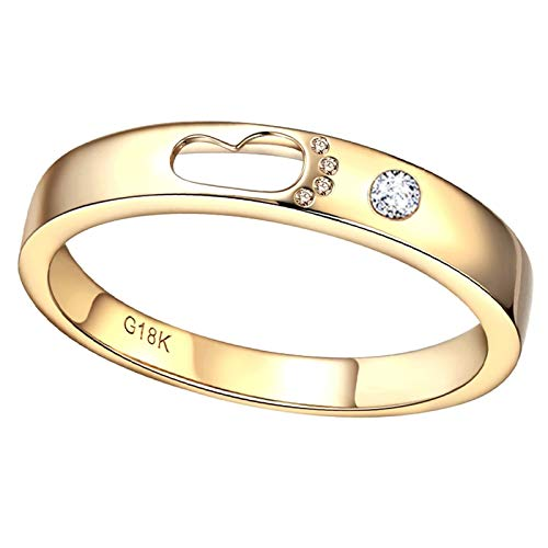 AmDxD oro amarillo 18 ct round-brilliant-shape White Diamond