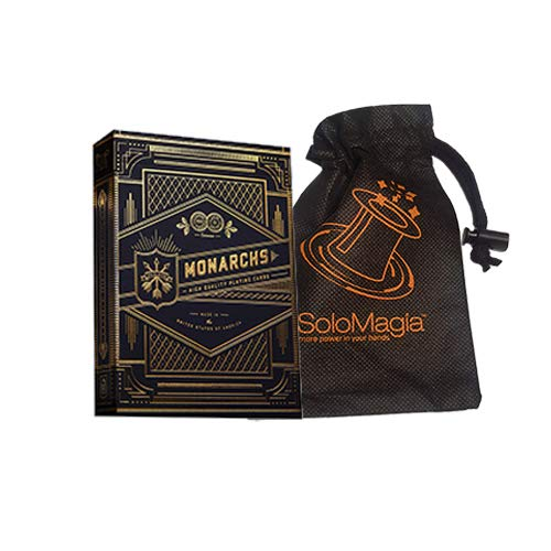 SOLOMAGIA Card Bag e Mazzo di Carte Monarchs Playing Cards by Theory 11