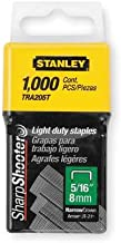 Stanley TRA205T 1,000 Units 5/16-Inch Light Duty Staples (2 pack)