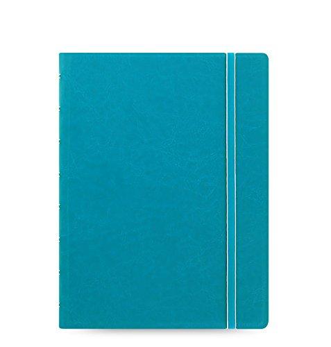 Filofax Notizbuch, A5, nachfüllbar, Aquablau