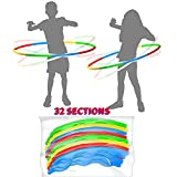 Best Hula Hoops - 4 Pack Plastic Hula Rings Toys,Hula Rings Toys Review