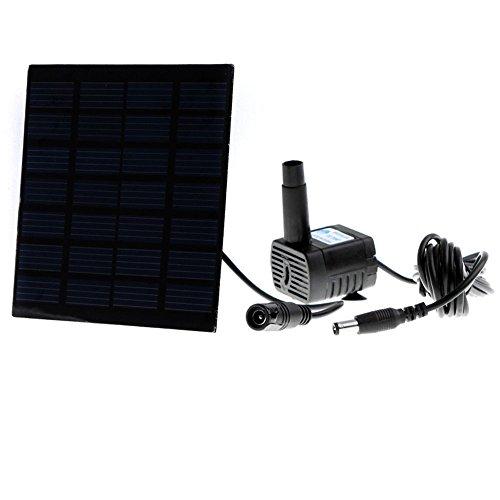 Anself Smart Solar Pump for Garden Pond Plants Fountain Solar-powered Water Pump