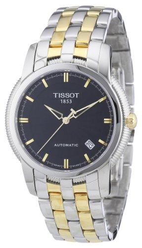 Tissot T97248351 - Reloj analógico de caballero de cuarzo con correa de acero inoxidable multicolor