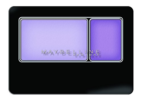 Maybelline New York Expert Wear Eyeshadow, Lasting Lilac, Duos, 0.08 Ounce