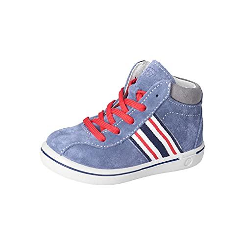 RICOSTA Kinder Lauflern Schuhe Johnny von Pepino, Weite: Mittel (WMS), Kids Jungen Kinderschuhe toben Spielen Freizeit,mare,23 EU / 6 Child UK