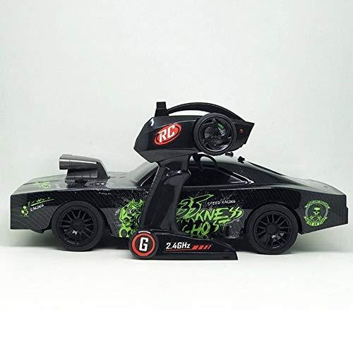 KRCT 1:10 Escala Gran Control Remoto Muscle Car 4x4 Alta Velocidad RC...