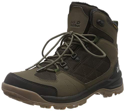 Jack Wolfskin Herren Cold Terrain Texapore MID M Wasserdicht Trekking-& Wanderstiefel, Braun (Coconut Brown/Black 5209), 42 EU
