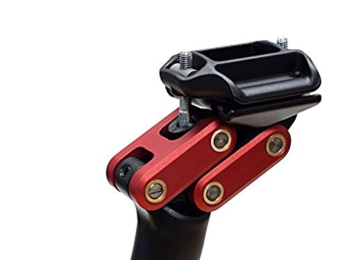 REDSHIFT Dual-Position Seatpost Aluminum (27.2mm x 350mm) - Red