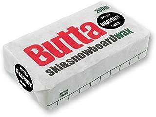 Butta Wax Graphite Ski And Snowboard Snow Wax - Black by Butta
