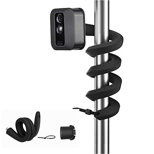 Flexible Twist Mount for Blink XT2, Compatible with Blink XT/XT2 Blink Indoor & Outdoor Camera, Best Viewing Angle for Your Blink Home Security Camera System - (Black, 1-Pack)