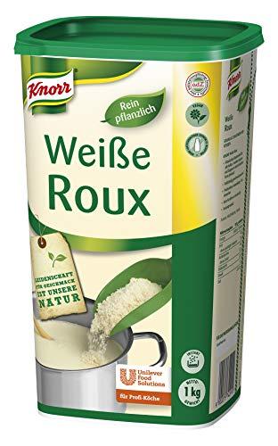 Knorr Roux weiße Mehlschwitze (sofortige, stabile Saucen Bindung) 1er Pack (1 x 1kg)