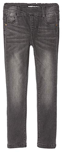 NAME IT Baby-Mädchen NMFPOLLY DNMTORA 5129 Leggings NOOS Jeans, Grau Medium Grey Denim, 98