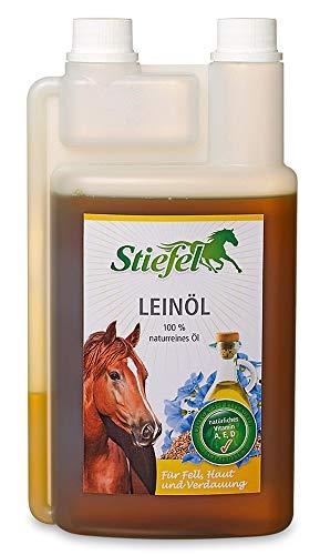 Stiefel Leinöl für Fell und Verdauung, 1 Liter