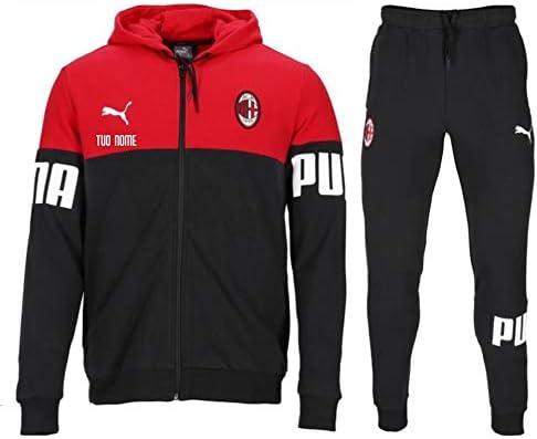 Tuta Calcio ROSSONERA Bambino Ufficiale AC Milan 2021 Personalizzata Personalizzabile