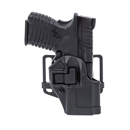 BLACKHAWK 410565BK-R CQC Concealment Serpa Holster for Springfield Armory XDS 3.3