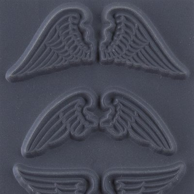 "Cool Tools - Flexible Texture Tile - Natural Wings - 4"" X 2"""