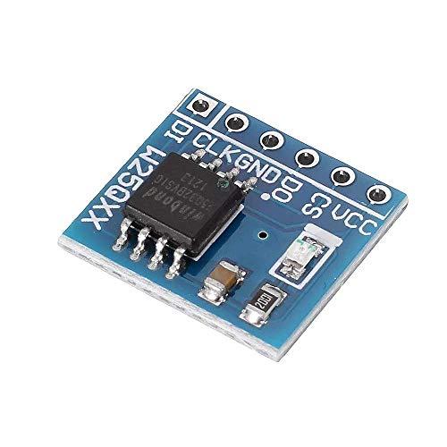 LKK-KK W25Q32 W25Q64 W25Q128 Large Capacity FLASH Storage Module Memory Card SPI Interface BV FV STM32 (Size : W25Q64)